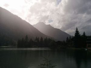 Champex-Lac in the afternoon light.